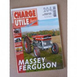 Charge Utile n°204, Latil TL, Massey-Ferguson, Kaelble, Delahaye 163, houillères, Pierre Chaignot
