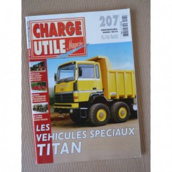 Charge Utile n°207, Massey-Ferguson, Titan, Termit, Chausson Atlantic, Dodge Power Wagon, Pivoin, Moreno-Bormann