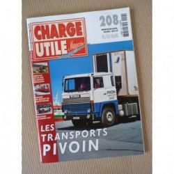 Charge Utile n°208, Massey-Ferguson, Titan, Dodge M37, Copaviem, Aubert, Termit, Girardot, Pivoin, Moreno-Bormann