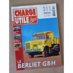 Charge Utile n°211, Massey-Ferguson, Berliet GBH, Labor, Verney RU, Unimog, Sitca-Dewasmes, Christian Bertault
