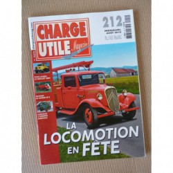 Charge Utile n°212, Unimog, Berliet GBH, Saviem SP5, Haulotte, cars Girard, Christian Boner