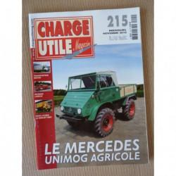 Charge Utile n°215, Unimog, Berliet GBH, Hancock Michigan-Clark, Genin-Viallon, Landry Brivin & Cie, Boner