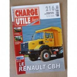 Charge Utile n°216, Unimog, Berliet GBH, Hancock Michigan-Clark, Van Hool, Riffaud, Christian Boner