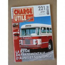 Charge Utile n°221, MB Trac, Benoto, Griset, Masson, marins-pompiers, Boner