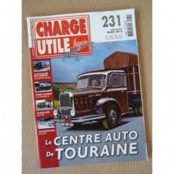 Charge Utile n°231, Citroën T23, Volvo FH, Claeys New Holland, Haulotte, TPN, Satilor, Yannick Calmay