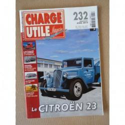 Charge Utile n°232, Citroën T23, Claeys New Holland, DROTT, TPN