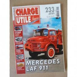 Charge Utile n°233, Citroën T23, Claeys New Holland, Ransomes Rapier, Mercedes LAF 911, TPN, AFVCC