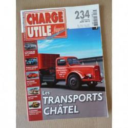 Charge Utile n°234, Citroën T23, Claeys New Holland, excavateurs, Mercedes LAF 911, TPN, Châtel