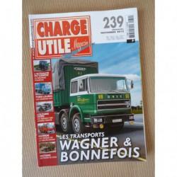 Charge Utile n°239, Renault années 30, Paul Berliet, Fiat, FH, Claeys New Holland, Priestman, Floirat, Wagners Bonnefois