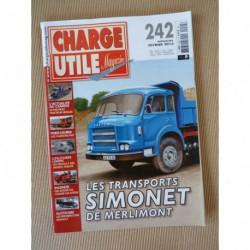 Charge Utile n°242, Renault années 30, Fiat, Trojan-Yale, cars Renault, VCOM au VLRA, Émile Simonet, Tournaire