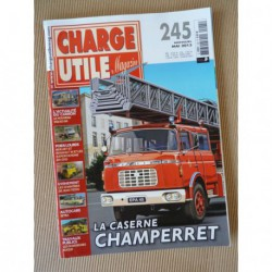 Charge Utile n°245, Cletrac, Berliet Renault CKD, Bonifay, Euclid, Setra,