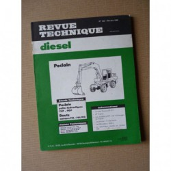 RTD Poclain 75P, 75C, 90P, 90C. Deutz DX85, DX90, DX110. Yumbo, Richier, New Holland à Deutz F5L 912, F6L 912