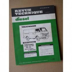 RTD Volkswagen LT 28D, 31D, 35D, 40D, 45D. Perkins 4.165 et VW CP