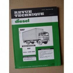 RTD DAF séries 1300, 1500. DF, DT 615