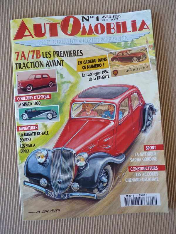automobilia-n1-citroen-traction-7cv-simca-1000-chenard-et-walker-renault-fregate-sacha-gordine
