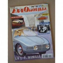 Automobilia n°9, JP Wimille, Salmson 2300S, Citroën DS anglaises, Mathis, Chenard Mauboussin, Raph