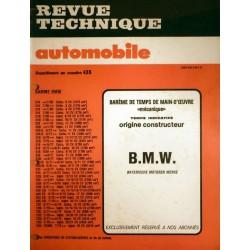 Temps de réparation BMW années 80 et 90