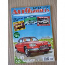 Automobilia n°17, Facel Vega, Matra Bagheera, Panhard Citroën, Mathis VEL 333, Pourtout