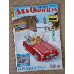 Automobilia n°22, Panhard Junior, Matra Bagheera, voiture électrique, Vedette 54-57, Hotchkiss rallye