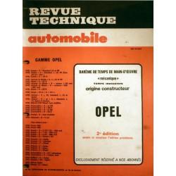 Temps de réparation Opel années 80 et 90