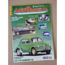 Automobilia n°44, Renault 4cv, Farman, Barou, Studebaker Lark, Citroën DS