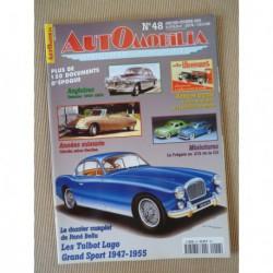 Automobilia n°48, Talbot Lago Grand Sport, Citroën Heuliez, Renault Grand Sport, Daimler, Lucien Rosengart