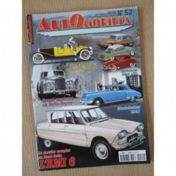 Automobilia n°52, Citroën Ami 6, Gnôme et Rhône 40cv, Pichon-Parat, Studebaker, Rolls-Royce