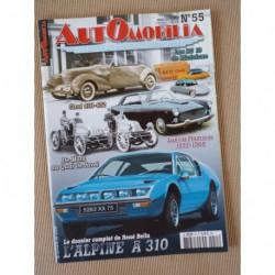 Automobilia n°55, Alpine A310, André Citroën Mors, Lancia Flaminia, Cord 810 et 812