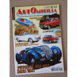 Automobilia n°57, Simca 9 Sport, Peugeot 302 402 Darl'Mat, NSU Ro 80, Moskvitch, Hotchkiss