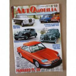 Automobilia n°59, Panhard 24, Renault Reinastella, Hotchkiss Grand Sport, Bugatti 57, Wolseley