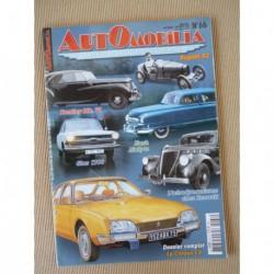 Automobilia n°66, Citroën CX, aéro Renault, Nash Airflyte, Bentley Rolls-Royce
