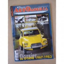 Automobilia n°73, Citroën Dyane, Renault Frégate, Panhard Dynavia, Ford Zephyr Zodiac mk3
