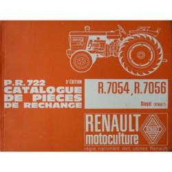 Renault Super 4, 4D, 5, 5D (R7054, R7056), catalogue de pièces