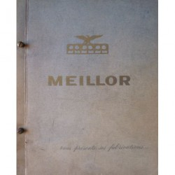 Joints Meillor, catalogue motos 1957
