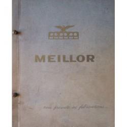 Joints Meillor, catalogue motos 1957