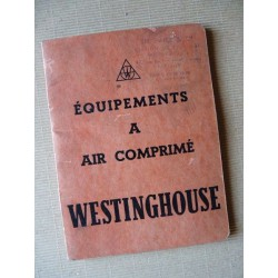 Equipement à air comprimé Westinghouse, catalogue original