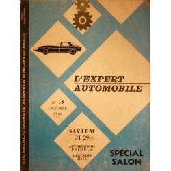 L'Expert Automobile Saviem JL29 A et JL29 T. Salon 1967
