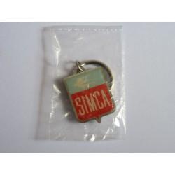 porte-clés logo Simca 5 6 8, Ariane, P60, Aronde, Chambord Trianon Beaulieu Chatelaine