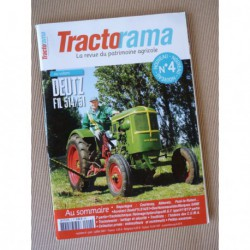 Tractorama n°4, Deutz F1L 514 51, Same, CUMA, battage à l'ancienne, Luc