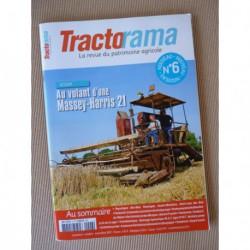 Tractorama n°6, Massey-Harris 21, Bobard, Fordson F, Alain Castillon, Brullebaut