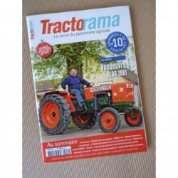 Tractorama n°10, Vendeuvre BM30, Schlüter, INAPG, Renault 681-4, Citroën C4, TractoMANie, Chenot
