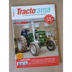 Tractorama n°15, Field Marshall Series III, David Brown Cropmaster, Fendt, affiches agricoles, Le Goff