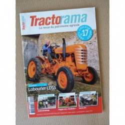 Tractorama n°17, Labourier LD15, Allgaier A22, Vendeuvre, Merlin 531, SFV Super 202, Arnoux
