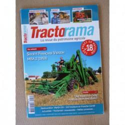 Tractorama n°18, SFV MBA2, Caterpillar D9R, Vendeuvre, Merlin 531, Languereau