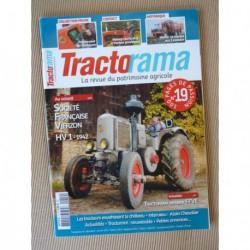 Tractorama n°19, SFV HV1, Massey-Harris 30K, Matrot, Alain Chevalier SFV, Couette
