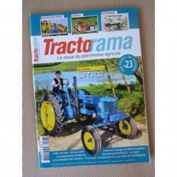Tractorama n°23, Sift H30, Putigny BP11, Landini, Lantenois