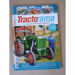 Tractorama n°24, Eco N50, Merlin 531, Fordson, Holder A10, Geldof