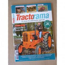 Tractorama n°26, Vendeuvre Super BB, MWM Motorpferd, Hanomag, Vendeuvre BB500, Rameau