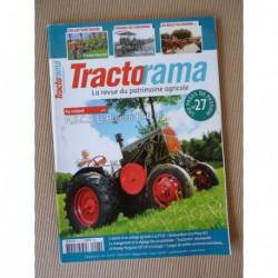 Tractorama n°27, Le Robuste K40, Holt 75, Massey-Harris Pony 812, Boyaval