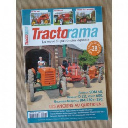 Tractorama n°28, Massey-Harris Pony 812, Chenillard Blank R114, Heywang, Dumoulin